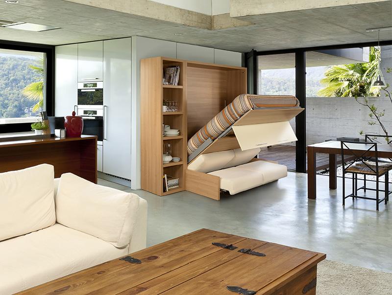 lit rabattable. Black Bedroom Furniture Sets. Home Design Ideas