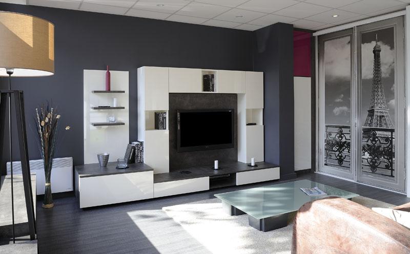 Salon - Meuble tv living salon ...
